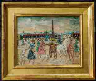 Jean Dufy(France 1888-1964)Oil on Canvas,Signed