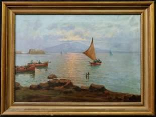 Nicolo Corsi(Italy 1882-1956)Oil/Canvas,Signed