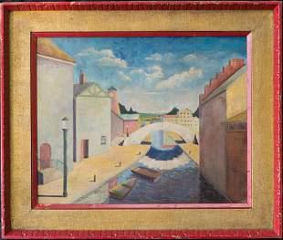 Tristram Hillier(1905-1983)UK Listed Artist Oil