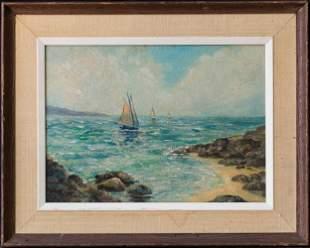 William Posey Silva(1859-1948)California Listed Artist