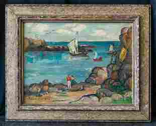 Anne Rice  (1879 - 1959) Pennsylvania Listed Artist OIl
