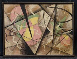 George Lovett Kingsland Morris  (1905 - 1975) NY Artist