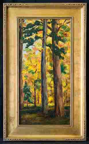 Tom Thomson  (1877 - 1917)(ATTB) Canada Artist Oil