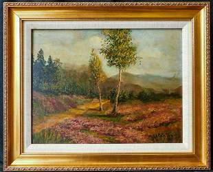 Rolla Sims Taylor  (Texas 1872 - 1970) Oil / Board,