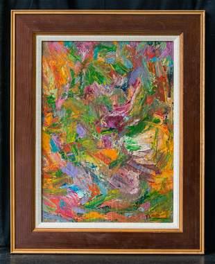 Marcelle Ferron  (1924 - 2001) Canada Artist Abstract