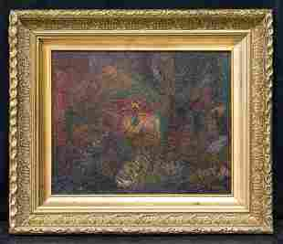 Max Weber  (1881 - 1961) New York/Russia Abstract Oil