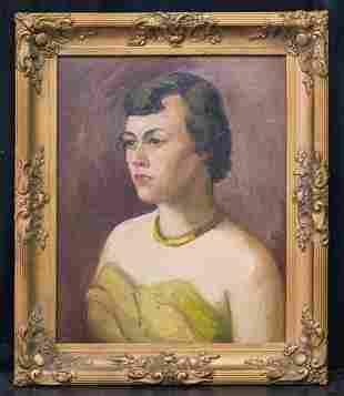 John French Sloan  (1871 - 1951) NY/NM Artist Oil