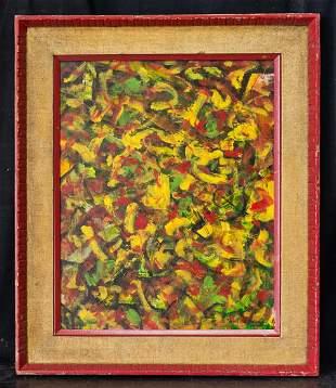 Beauford Delaney  (1901 - 1979) TN/New York Artist Oil