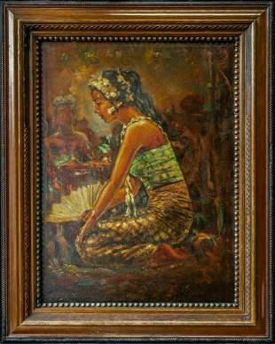 Willem Gerard Hofker(Netherlands 1902-1981)Large Oil