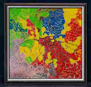 Alma Woodsey Thomas  (1891 - 1978) DC Artist Abstract