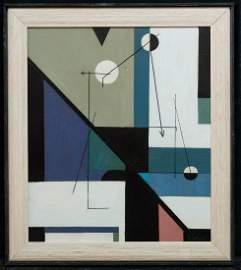 Charles Green Shaw  (1892 - 1974 New York Artist Oil