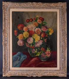 Hungary Artist Albert Bertalan (1899 - 1957) Oil