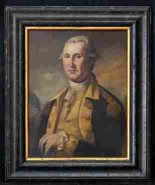 "Early 20th Century American Oil Painting ""Washington"