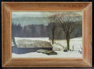 George Copeland Ault (1891-1948) New York/Ohio Artist