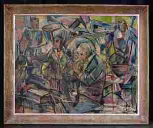 Karl Knaths (1891 - 1971) Massachusetts Artist Abstract