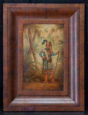 Early 20th Century American Original Oil Painting