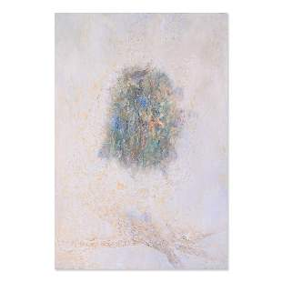 """Large Abstract Orginal Oil Painting """"Nest"""""""