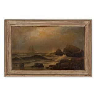 LEMUEL D. ELDRED, (American, 1848-1921) Maine Coast