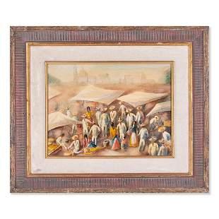 Fernando Castanos (1903 - 1994) Spanish Artist Oil