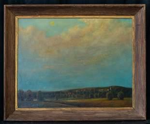 Marvin Cone (1891 - 1964) Iowa Artist Oil