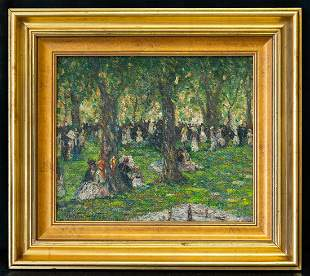 Martha Walter (1875 - 1976) PA/France Artist Oil
