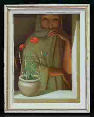 Antonio Bueno (1918 - 1984) German/Italy Artist Oil