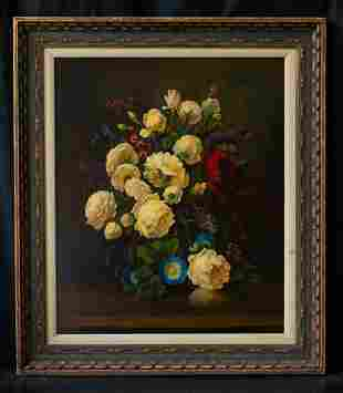 Marie Goth (1887 - 1975) Indiana Artist Oil