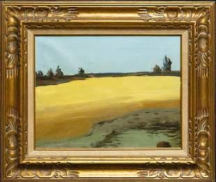 Alex Katz (Born 1927) New York, Maine Artist Oil