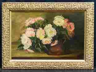 Mathias Joseph Alten (1871 - 1938) MI/CA Artist Oil