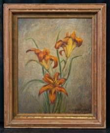 Mary Elizabeth Price (1877 - 1965) PA Artist Oil