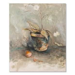 """Still Life Original Oil Painting """"Untitled"""""""