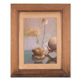 "Early 20th Century Original Oil Painting ""Elegant"