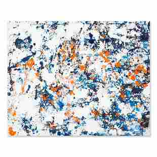 """Abstract Original Oil On Canvas """"Untitled"""""""