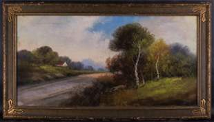 Large Realist/Traditional American Pastel On Paper