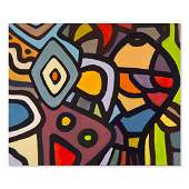 """Abstract Original Oil On Canvas """"Unitled"""""""