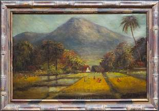 Isidro Ancheta (1882 - 1946) Philippines Artist Oil