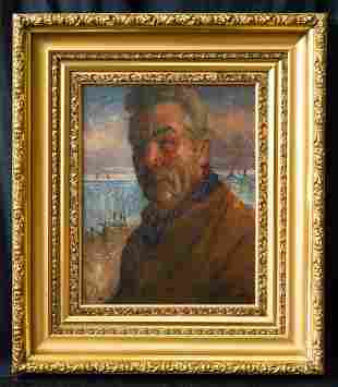 Armin Carl Hansen (1886 - 1957) California Artist Oil