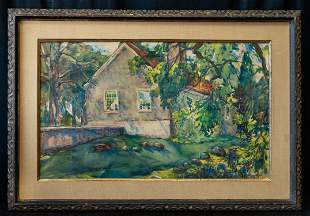 John Singer Sargent (1856-1925) Artist Watercolor