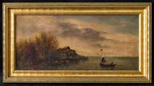 Martin Johnson Heade (1819 - 1904) NY Artist Oil