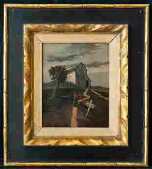 Gertrude Abercrombie (1909 - 1977) Illinois Artist Oil