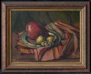 Bror Nordfeldt (1878 - 1955) New Mexico Artist Oil