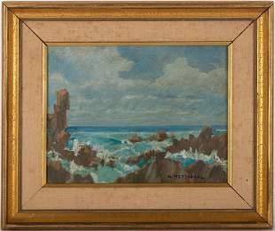 William Frederick Ritschel (1864 - 1949) Oil on canvas