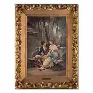 Henry Moran American Artist Oil On Canvas