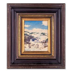 Emile Albert Gruppe (1896 - 1978) MA Artist Oil