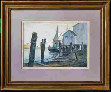 John Whorf (Massachusetts 1903 - 1959) | Watercolor