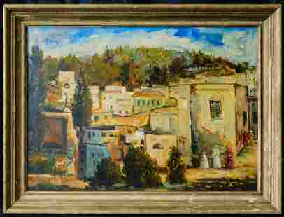 Jacques Majorelle (France, Africa 1886 - 1962) Oil on