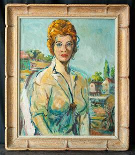 Marcos Grigorian (1925 - 2007) New York Artist Oil