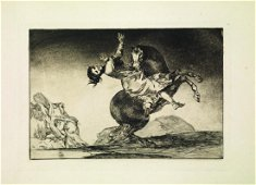 Goya Y Lucientes Francisco LOS PROVERBIOS Serie