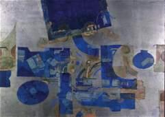 Gustavo Foppiani VIAGGIO A SPINA tempera su tavola, cm