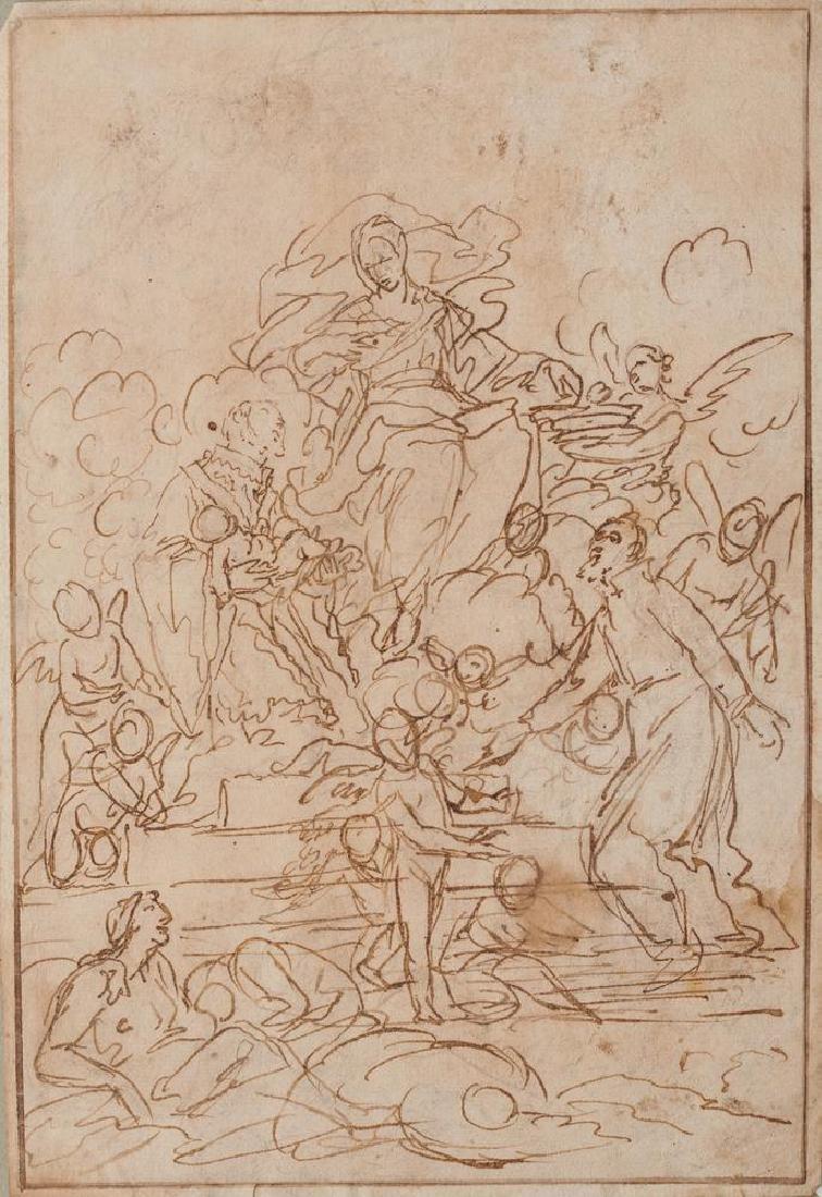 Scuola Veneta del XVIII secolo SAN FILIPPO NERI E